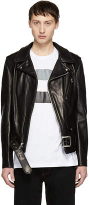 Schott Black Leather 50s Perfecto Jacket