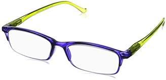 Peepers Unisex-Adult Sunday Brunch 498200 Rectangular Reading Glasses