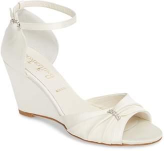 Something Bleu Queenie Ankle Strap Wedge Sandal