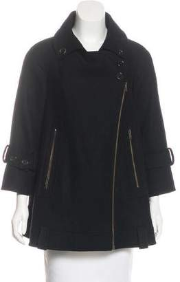 Derek Lam Wool Short Coat