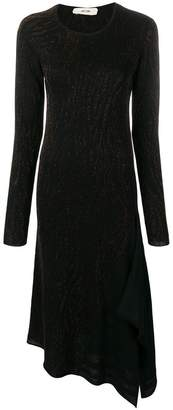 Damir Doma Kirsi metallic dress