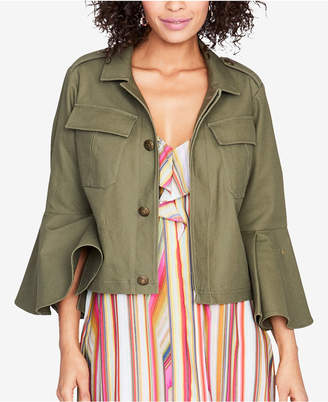 Rachel Roy Bell-Sleeve Utility Jacket, Created for Macy's