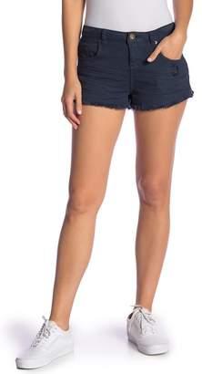O'Neill Sayulita Cutoff Denim Shorts (Pastel Lavender)