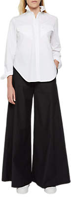 French Connection Ria Flare Trousers, Black