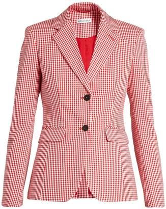 Altuzarra Fenice gingham cotton-blend blazer