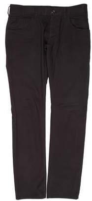 Dolce & Gabbana Twill Flat Front Pants
