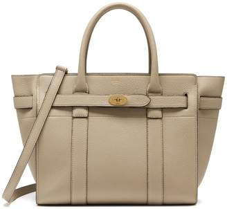 Mulberry Small Zipped Bayswater Dune Small Classic Grain