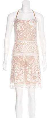 Dolce & Gabbana Lace Halter Dress