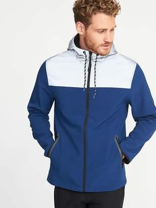 Old Navy Go-Warm Reflective-Trim Hooded Jacket for Men