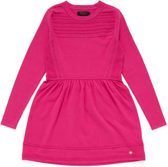 Juicy Couture (ジューシー クチュール) - Juicy Couture Girls クルーネック 長袖ニットドレス ピンク 10