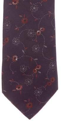 Kenzo Silk Jacquard Tie