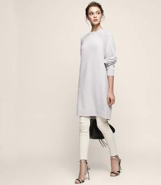 Reiss BLANCA Crew-neck knit dress