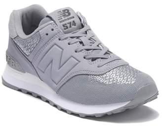 New Balance 574 Tech Raffia Sneaker