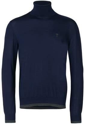 Moschino contrast-trim jumper