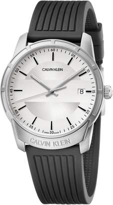 Calvin Klein Evidence Silicone Band Watch, 42mm