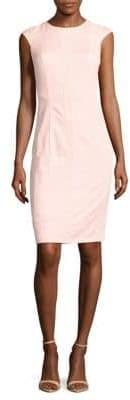Basler Crewneck Lace Sheath Dress