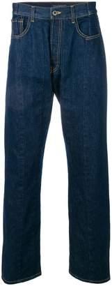 Valentino VLTN folded stitch jeans