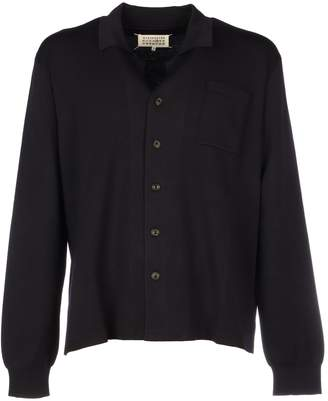 Wool Collared Cardigan