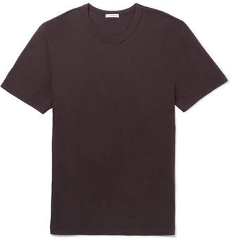 James Perse Slim-Fit Combed Cotton-Jersey T-Shirt - Men - Dark purple