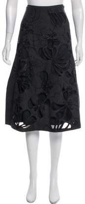 Marni Embellished Wool Skirt