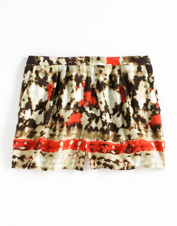 Vince Camuto Tie-Dye Printed Shorts