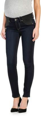 Paige Transcend - Verdugo Ankle Skinny Maternity Jeans