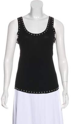 Givenchy Sleeveless Embellished Top w/ Tags