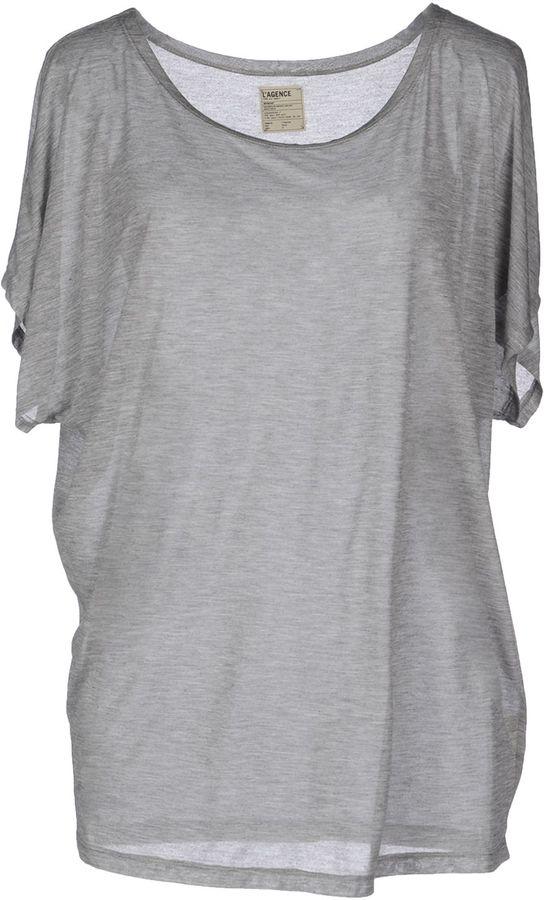 L'Agence Short sleeve t-shirts