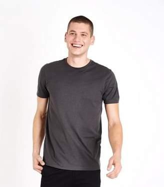 New Look Dark Grey Crew Neck T-Shirt