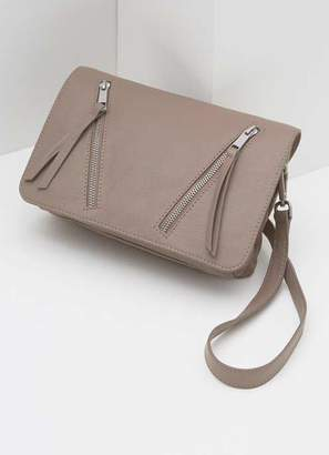 9856cd222cf Mint Velvet Anna Blush Zip Leather Bag