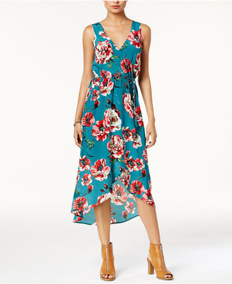 Lucky Brand Silk Floral-Print Dress $149 thestylecure.com