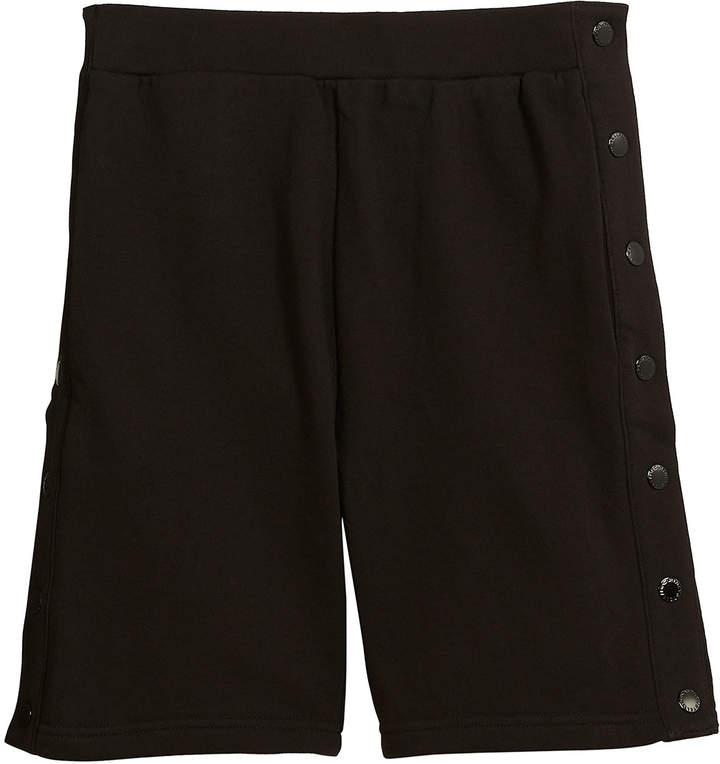 Dante Knit Shorts w/ Side Snaps, Size 4-10