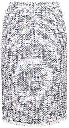 Coohem tweed pencil skirt
