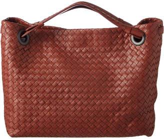 Bottega Veneta Medium Garda Intrecciato Nappa Leather Shoulder Bag