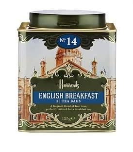 Harrods Heritage No.14 English Breakfast 50 Tea Bags