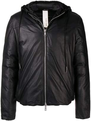 Giorgio Brato padded zipped jacket