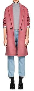 Isabel Marant Women's Filipo Wool-Blend Felt Coat-Pink