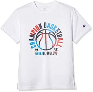 Champion (チャンピオン) - [チャンピオン] プラクティスTシャツ バスケットボール CK-PB323 キッズ ホワイト 日本 130 (日本サイズ130 相当)