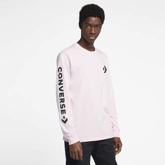 Converse Star Chevron Wordmark Men's Long Sleeve T-Shirt