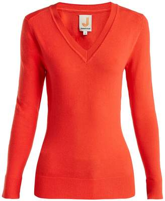 JOOSTRICOT V-neck cotton-blend sweater