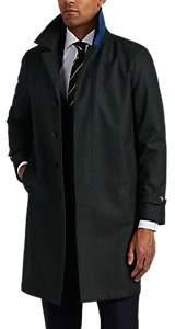 Barneys New York Men's Virgin Wool-Cashmere Coat - Olive