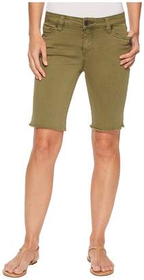 KUT from the Kloth Natalie Bermuda in Olive Women's Shorts