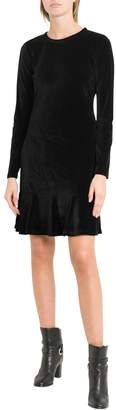 MICHAEL Michael Kors Velvet Flared Dress