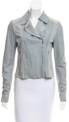 Paige Suede Moto Jacket