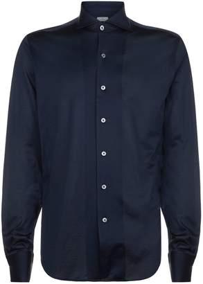 Canali Cotton Jersey Casual Shirt