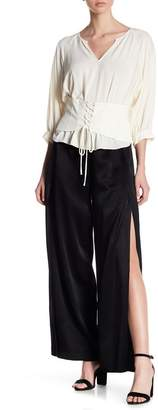 1 STATE 1.State Flat Front Wide Pants