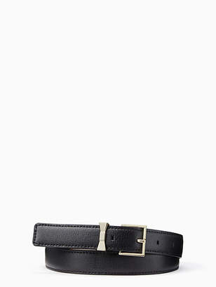 Kate Spade Bow loop belt