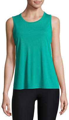 Xersion Strappy Drape Back Tank - Tall