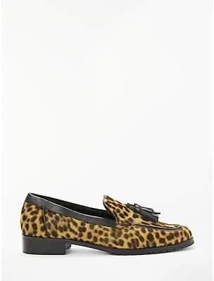 e07e0fbbdcb Boden Aria Shearling Leopard Print Loafer