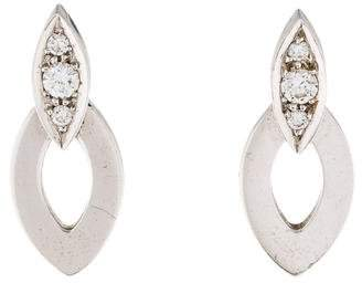 Cartier 18K Diamond Diadea Earrings